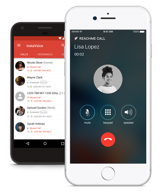InstaVoice ReachMe Free GSM to VoIP Incoming Calls